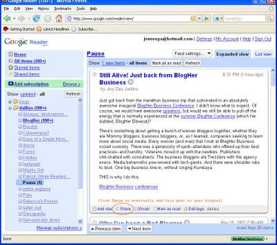 Blogrollshare